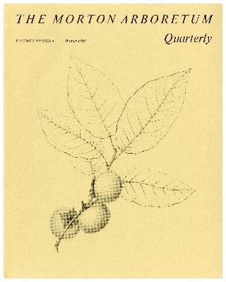 The Morton Arboretum Quarterly V. 05 No. 04