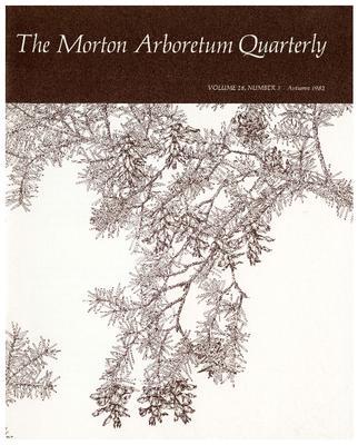 The Morton Arboretum Quarterly V. 18 No. 03