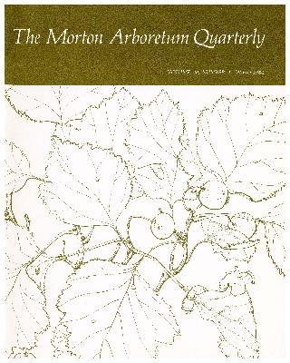 The Morton Arboretum Quarterly V. 20 No. 04
