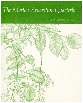 The Morton Arboretum Quarterly V. 16 No. 01