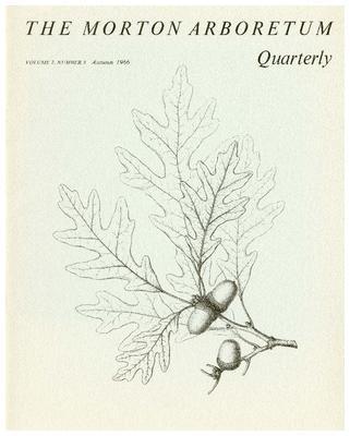 The Morton Arboretum Quarterly V. 02 No. 03
