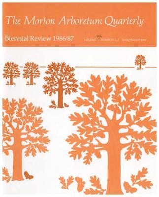 The Morton Arboretum Quarterly V. 24 No. 01-02
