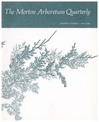 The Morton Arboretum Quarterly V. 22 No. 04