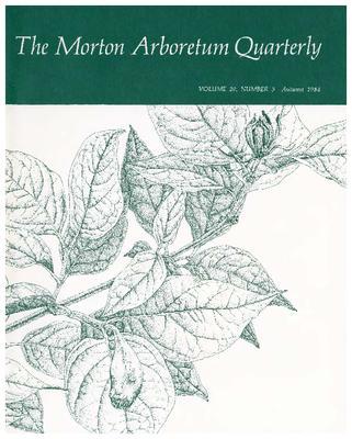 The Morton Arboretum Quarterly V. 20 No. 03