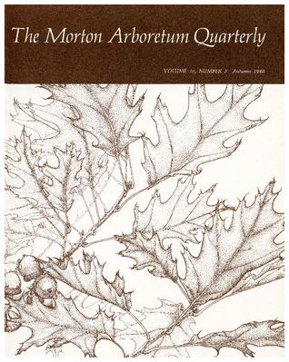 The Morton Arboretum Quarterly V. 16 No. 03