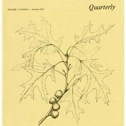 The Morton Arboretum Quarterly V. 07 No. 03