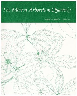 The Morton Arboretum Quarterly V. 18 No. 01