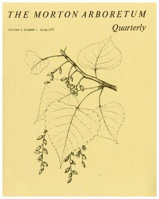 The Morton Arboretum Quarterly V. 08 No. 01
