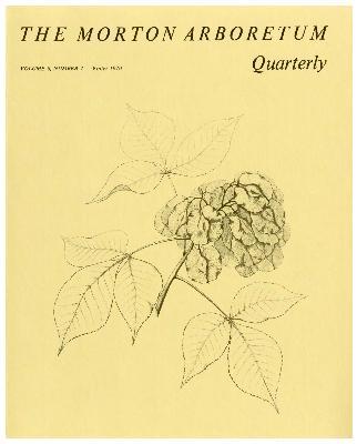 The Morton Arboretum Quarterly V. 06 No. 04