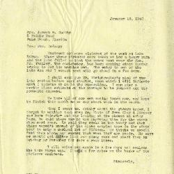 1940/01/18: Clarence E. Godshalk to Jean M. Cudahy