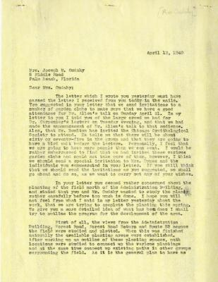 1940/04/12: Clarence E. Godshalk to Jean M. Cudahy