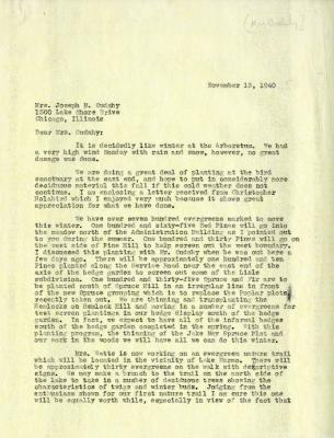 1940/11/13: Clarence E. Godshalk to Jean M. Cudahy