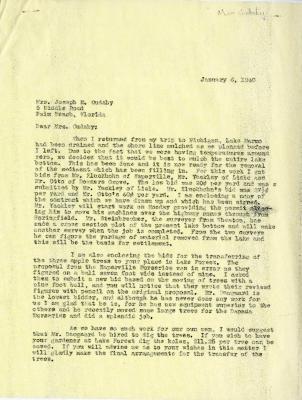 1940/01/06: Clarence E. Godshalk to Jean M. Cudahy