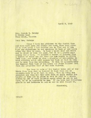 1940/04/05: Clarence E. Godshalk to Jean M. Cudahy