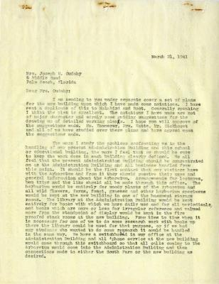 1941/03/21: Clarence E. Godshalk to Jean M. Cudahy