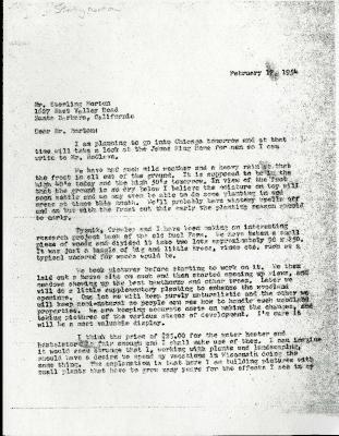 1954/02/17: C. E. Godshalk to Sterling Morton