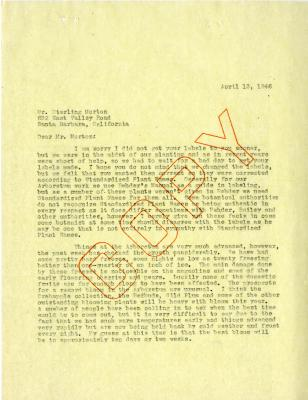 1946/04/13: C. E. Godshalk to Sterling Morton