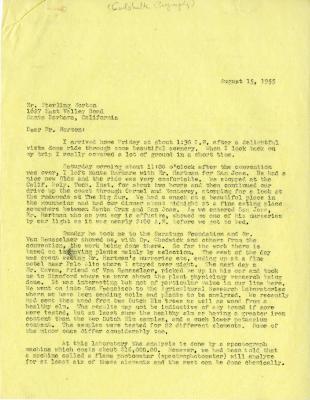 1955/08/15: C. E. Godshalk to Sterling Morton