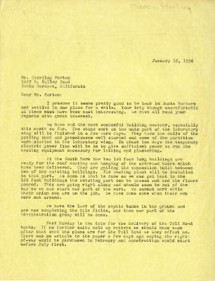 1956/01/18: C. E. Godshalk to Sterling Morton