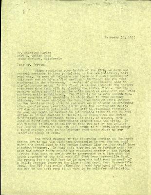 1955/02/10: C. E. Godshalk to Sterling Morton