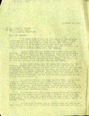 1954/02/11: Clarence E. Godshalk to Sterling Morton