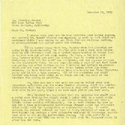 1953/12/23: C. E. Godshalk to Sterling Morton