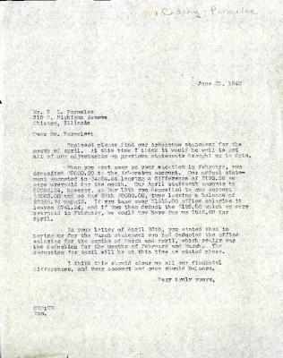 1942/06/23: Clarence E. Godshalk to D. S. Parmelee