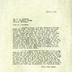 1943/05/19: Clarence E. Godshalk to D. S. Parmelee