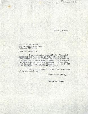 1942/06/27: Evelyn M. Rasch to D. S. Parmelee