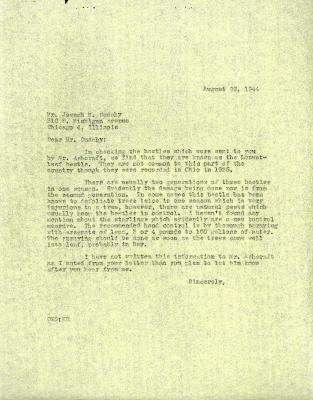 1944/08/29: Clarence E. Godshalk to Jean M. Cudahy