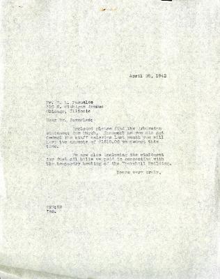 1942/04/25: Clarence E. Godshalk to D. S. Parmelee
