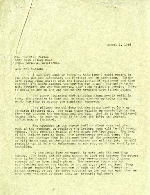 1956/08/06: C. E. Godshalk to Sterling Morton
