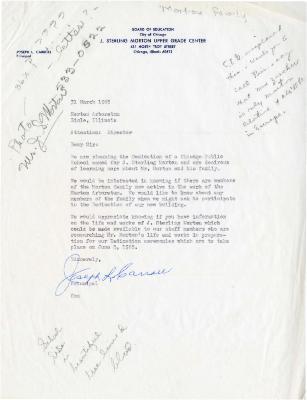 1965/03/31: Joseph L. Carroll to Director