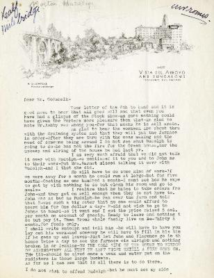 1935/12/11: Margaret Morton to C.E. Godshalk