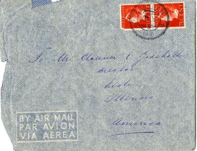 1946/03/23: Mrs. Reyne to Clarence Godshalk