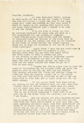 1937/03/07: Mrs. Joy (Margaret) Morton to C.E. Godshalk