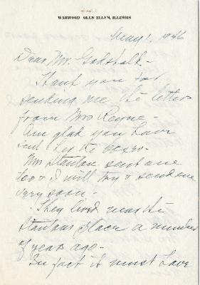 1946/05/01: Mrs. W. A. Rogers to Clarence Godshalk