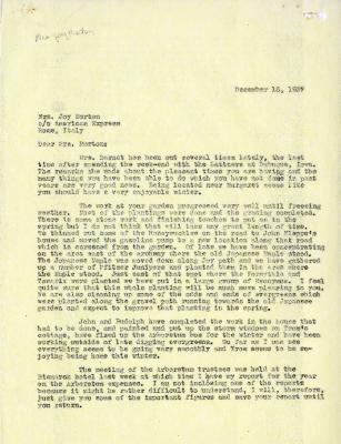 1937/12/16: To Mrs. Joy Morton