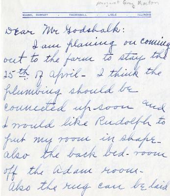 1938/04/12: Mabel Barnet to Clarence Godshalk