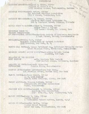 1935/12/14: List of Library Periodicals