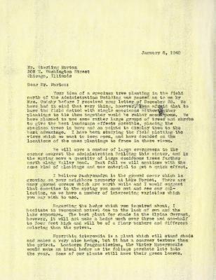 1949/01/06: C.E. Godshalk to Sterling Morton