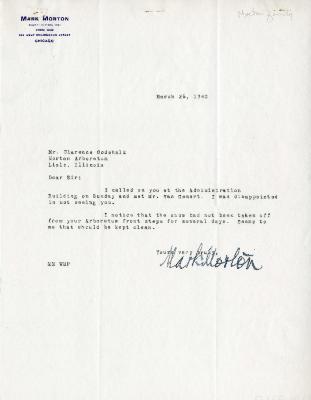 1940/03/26: Mark Morton to C. E. Godshalk