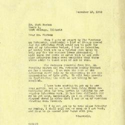 1936/12/19: Clarence Godhsalk to Mark Morton