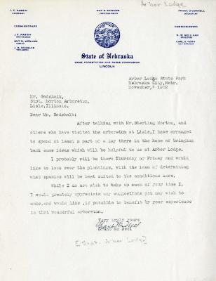 1939/11/07: Grant McNeel to Clarence E. Godshalk