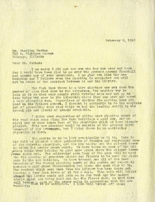 1942/02/06: Clarence E. Godshalk to Sterling Morton