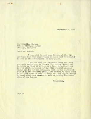1942/09/09: Clarence E. Godshalk to Sterling Morton