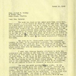 1940/03/15: Clarence E. Godshalk to Jean M. Cudahy