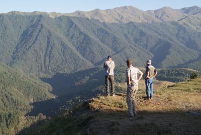 South Caucasus landscape