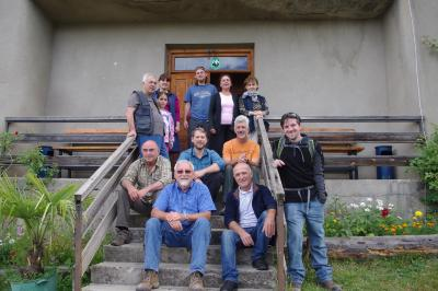 Collecting group at Bakuriani field station