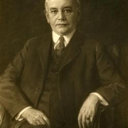 Joy Morton, photograph of oil-painted portrait